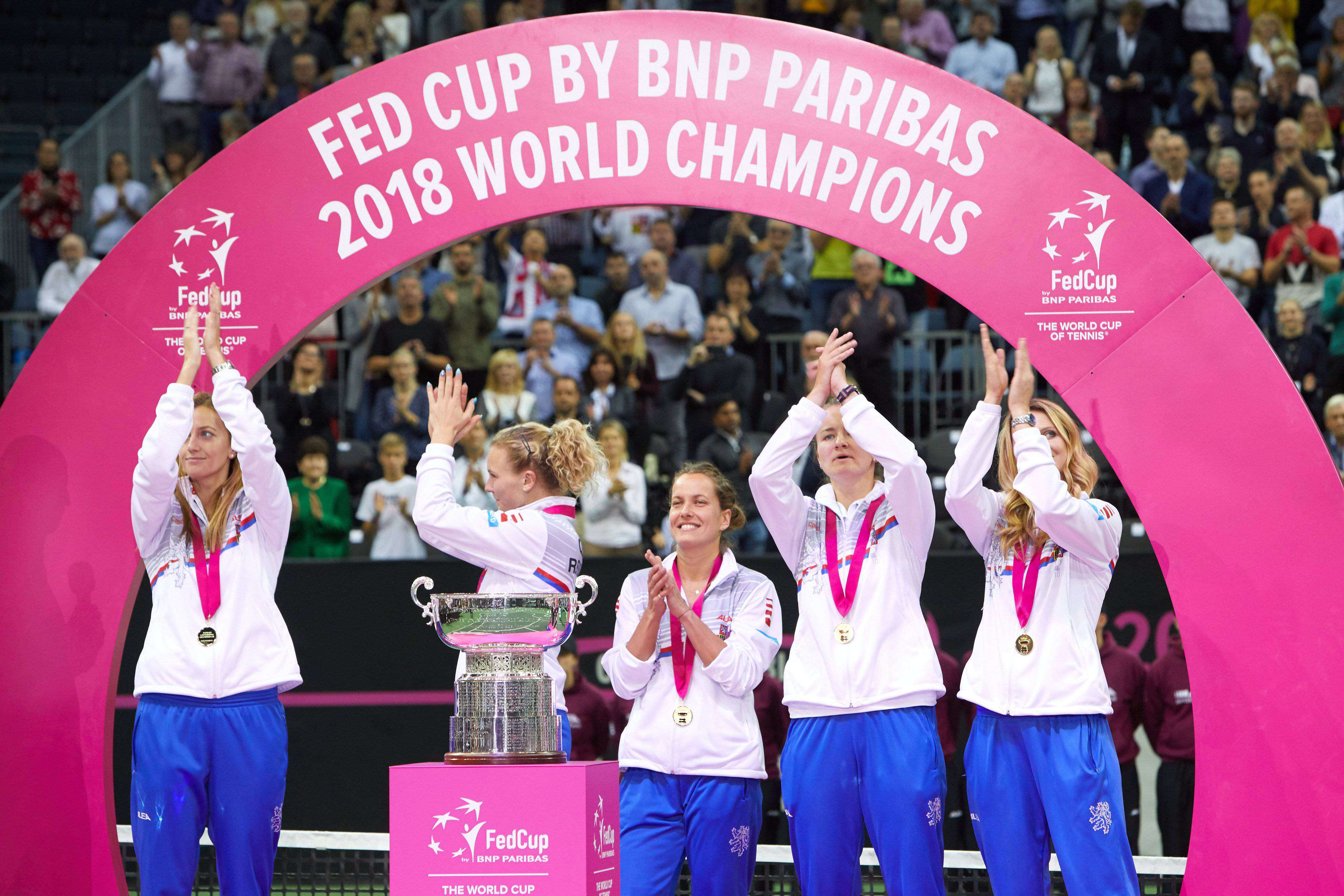 Fed Cup by BNP Paribas 2018 Final CZE vs. USA