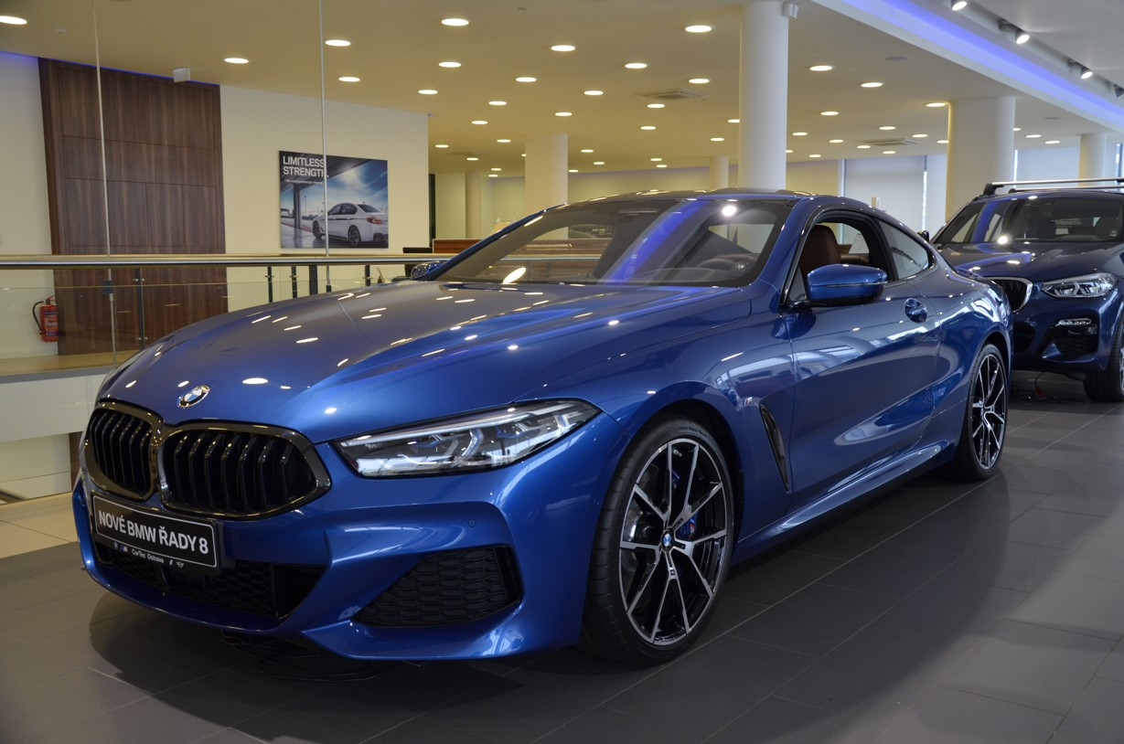 BMW 840d xDrive Coupé