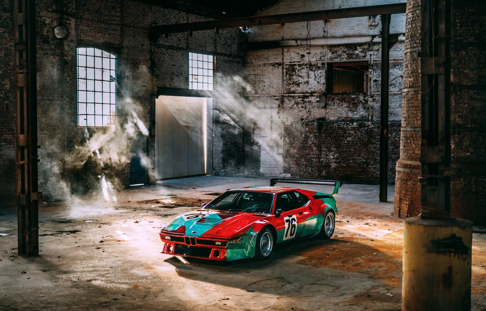 BMW M1 designed by Andy Warhol | CARTEC GROUP