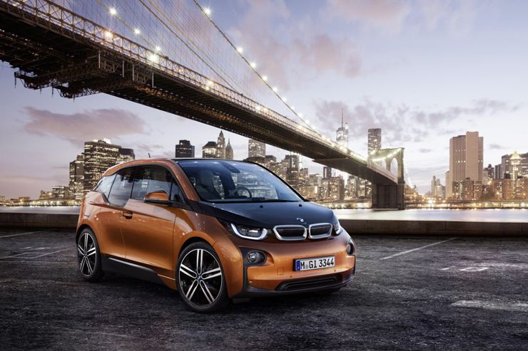 Šest let BMW i3