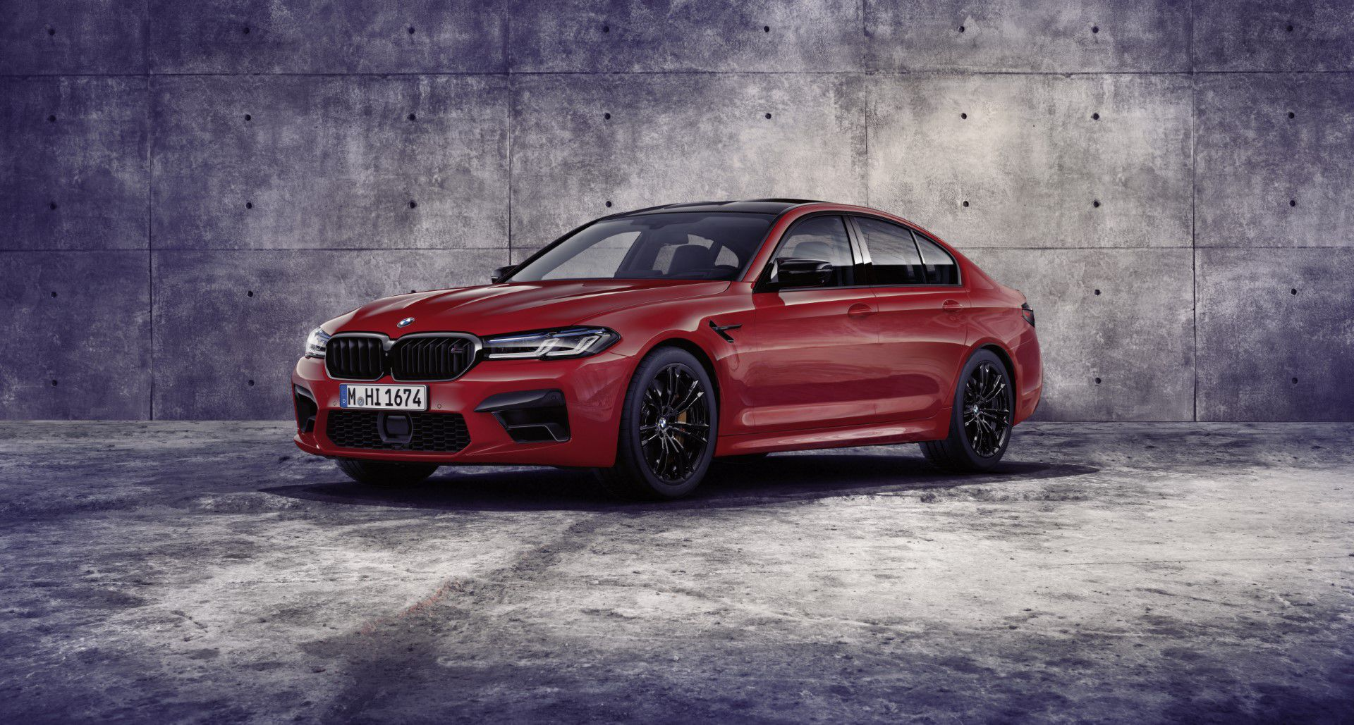 Foto BMW M5 a BMW M5 Competition