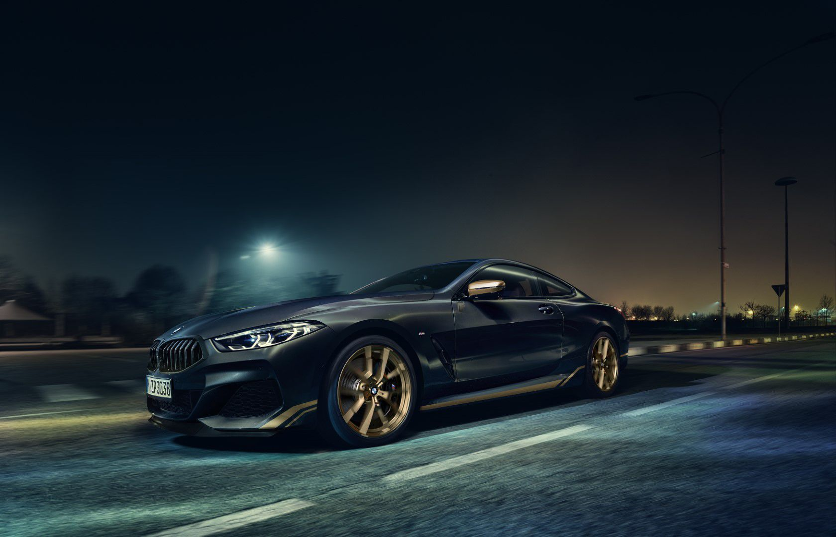BMW řady 8 Golden Thunder Edition