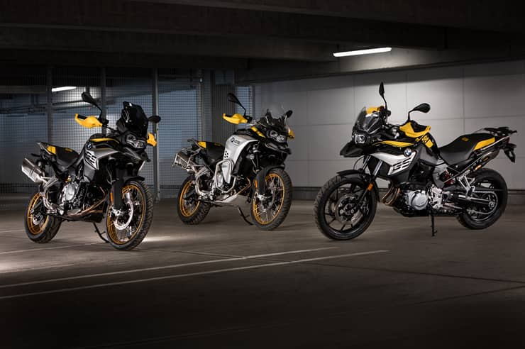BMW F 750 GS, BMW F 850 GS a BMW F 850 GS Adventure