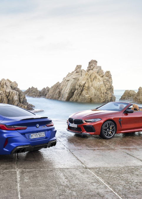 Nové BMW M8 Coupé a BMW M8 Competition Coupé. Nové BMW M8 Cabrio a BMW M8 Competition Cabrio.