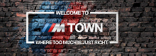 ///M TOWN | ŽELEZNIČNÍ PŘEJEZD V BMW M TOWN | TOO MUCH IS JUST RIGHT | CARTEC GROUP